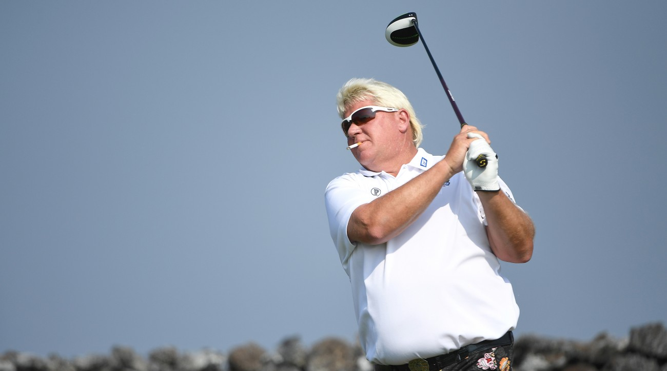 A vertical-groove driver!? It might be crazy enough to ...  John Daly 2017