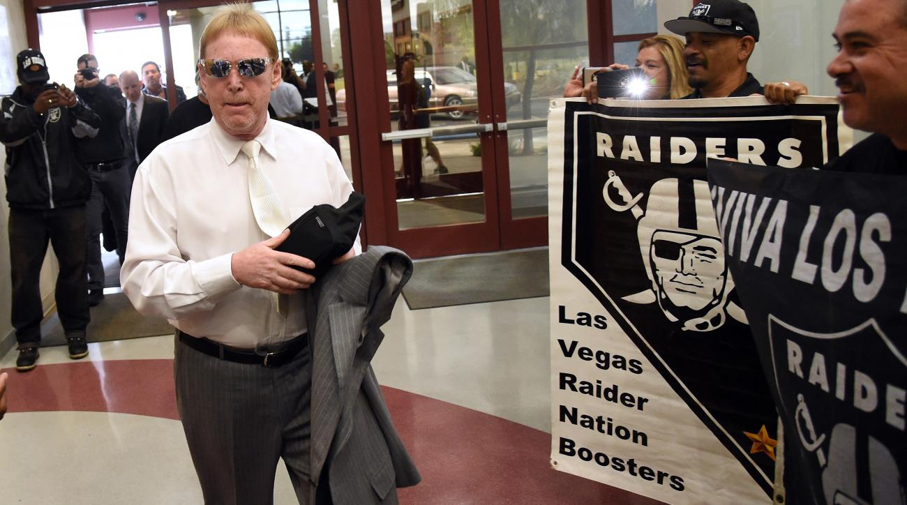 Mark Davis: Las Vegas Raiders stadium proposal
