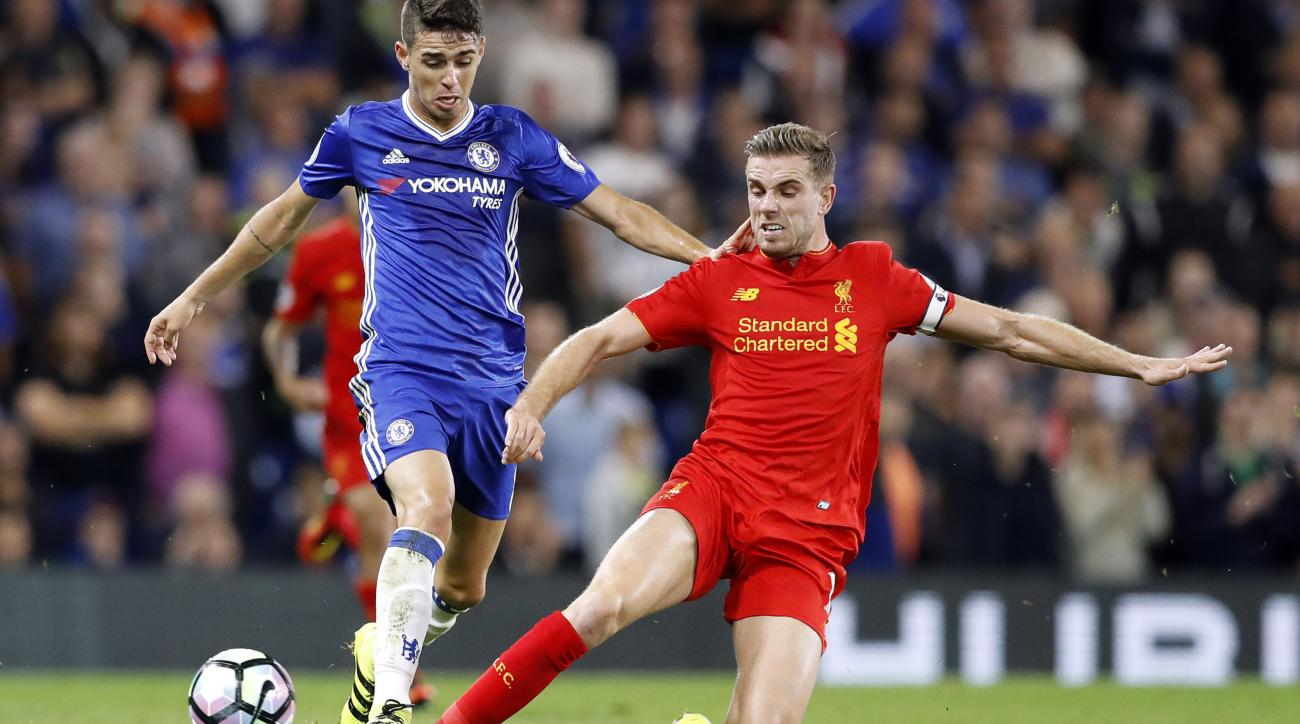 Liverpool take on Chelsea in Premier League action on Tuesday.