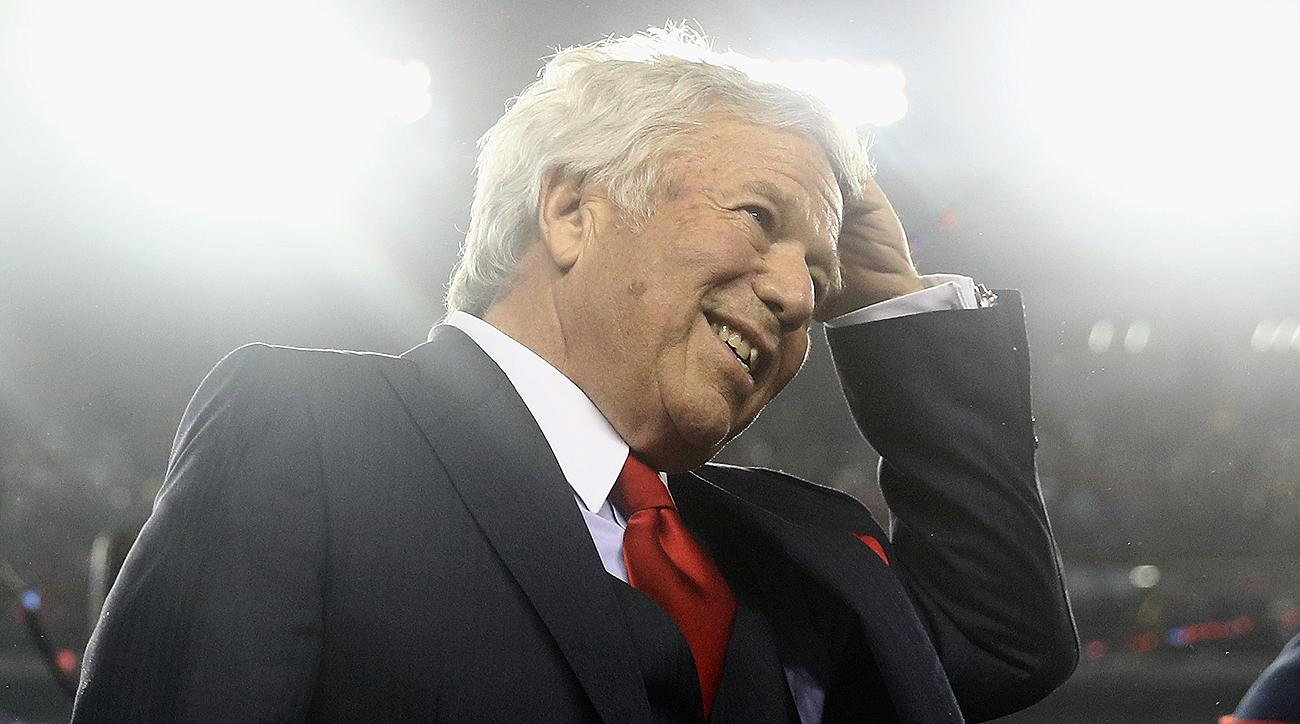 Robert Kraft bought the Patriots in 1994 for $174 million, the highest price for an NFL team up to that point.