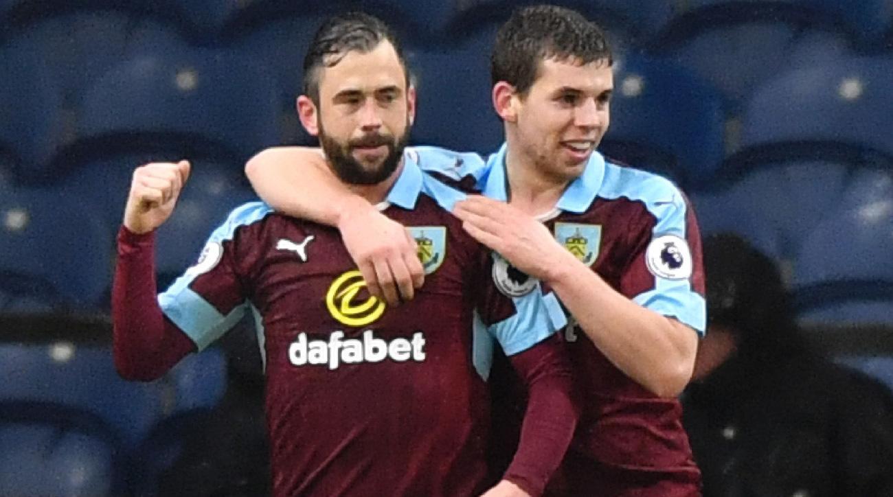 Steven Defour scored a phenomenal goal for Burnley