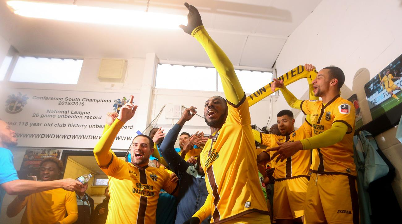 Sutton will play Arsenal in the FA Cup