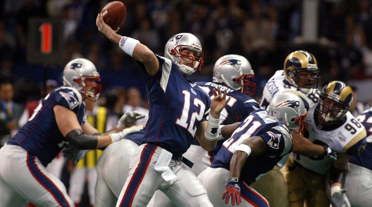 twitter reaction super bowl tom brady 2002