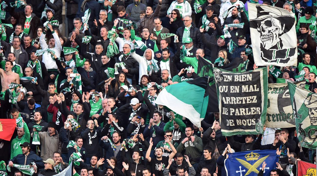 Saint Etienne fans weren't thrilled with the loan signing of Anthony Mounier