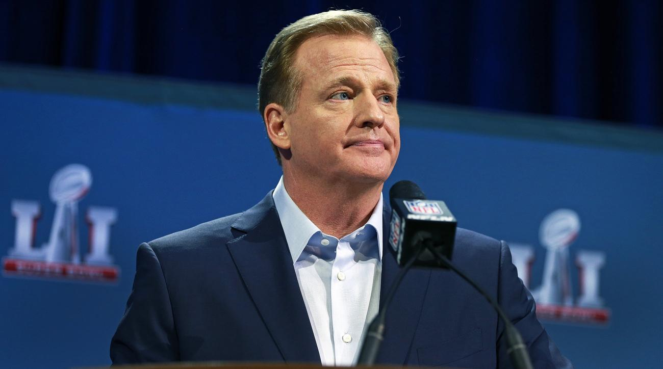 donald trump criticizes roger goodell