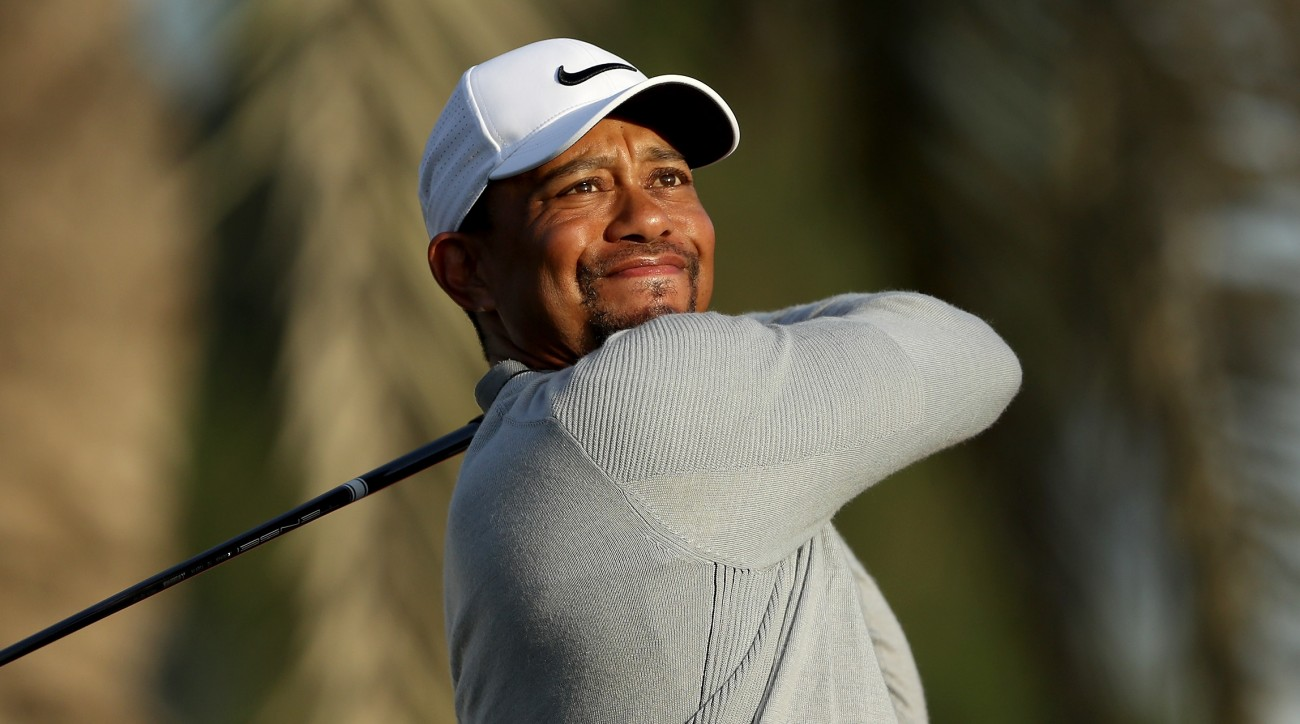 Tiger will tee it up at the Omega Dubai Desert Classic this week after missing the cut at Torrey Pines.
