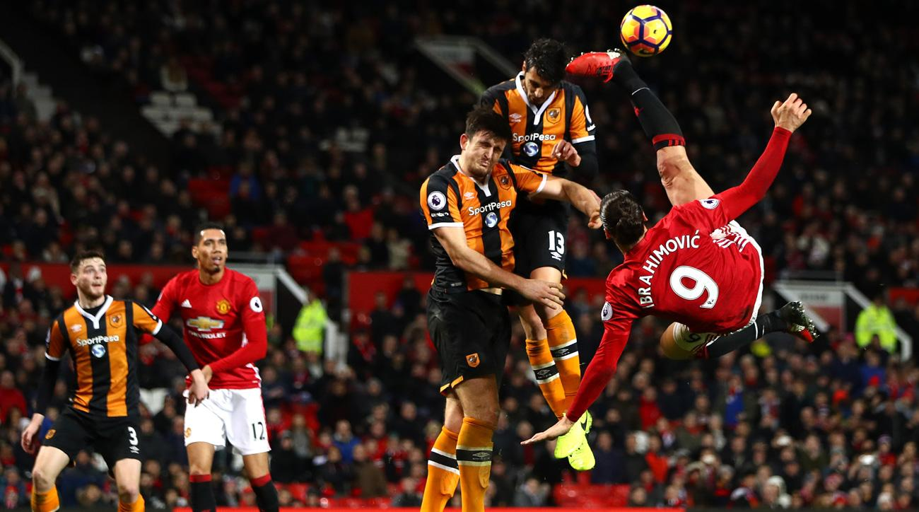 Manchester United was held to a 0-0 draw by Hull City