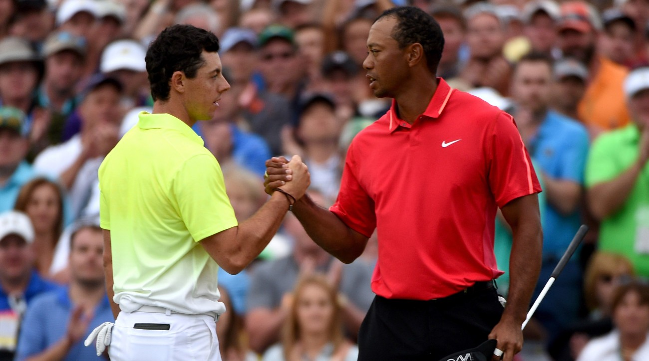 """Rory McIlroy says Tiger Woods is """"close"""" to regaining his form."""