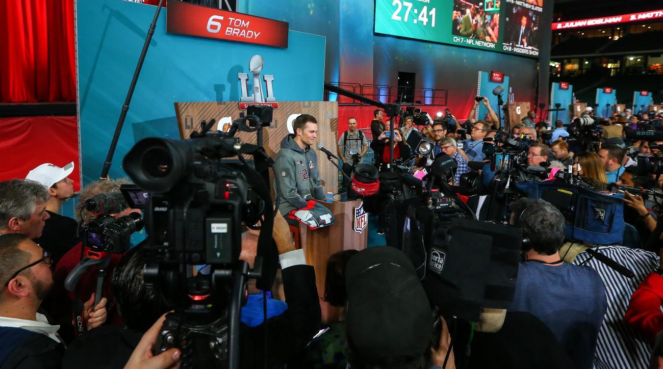 Super Bowl Opening Night: Tom Brady