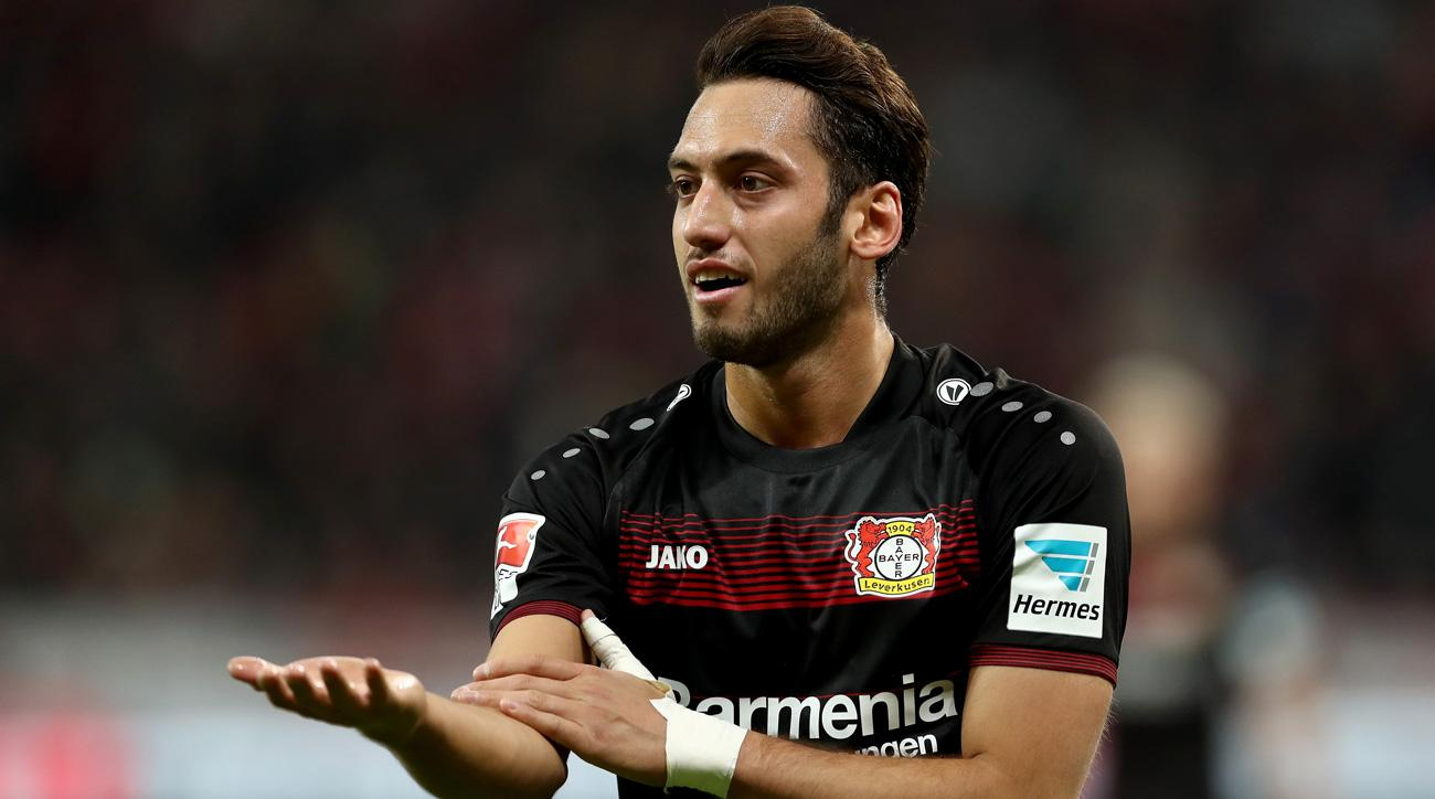 Hakan Calhanoglu is banned for the next four months