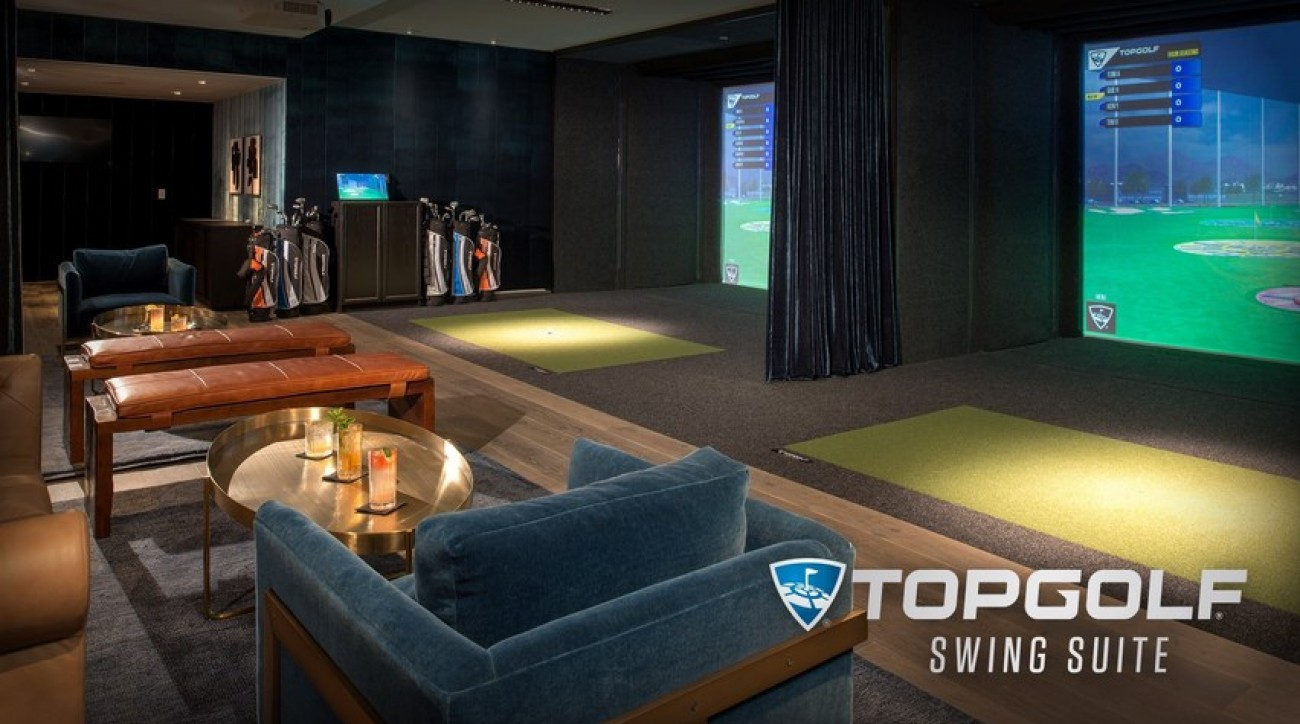 """Top Golf's new """"swing suite"""" promises golf fans a place to relax and have fun."""