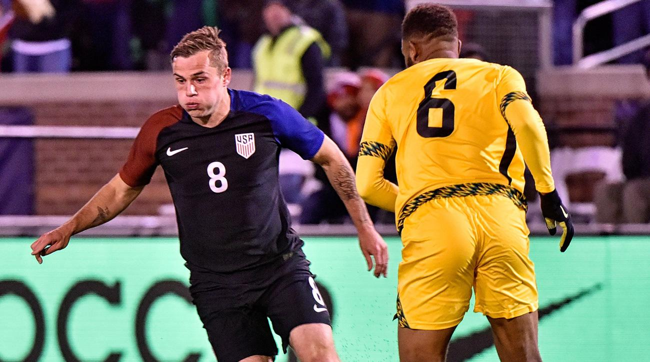 Jordan Morris and the USA beat Jamaica in a friendly