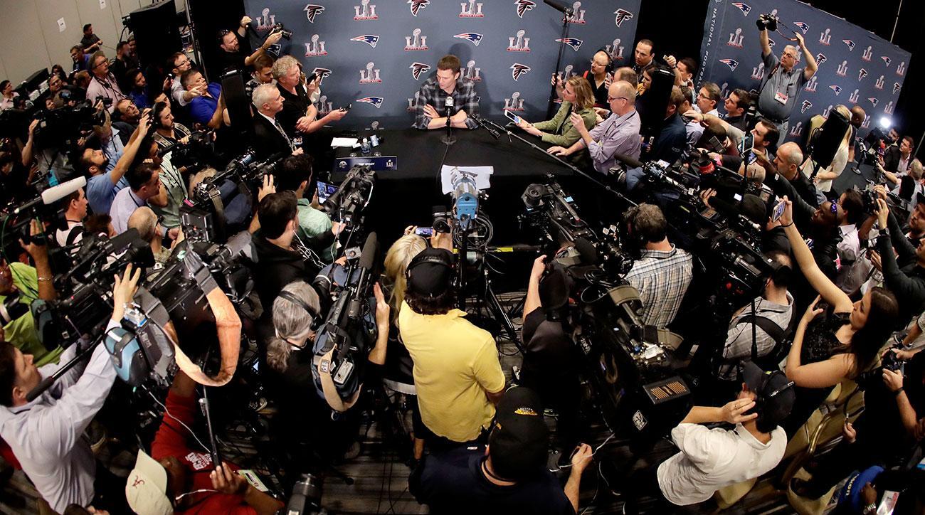 Super Bowl: 2017 political climate putting damper on Patriots vs. Falcons