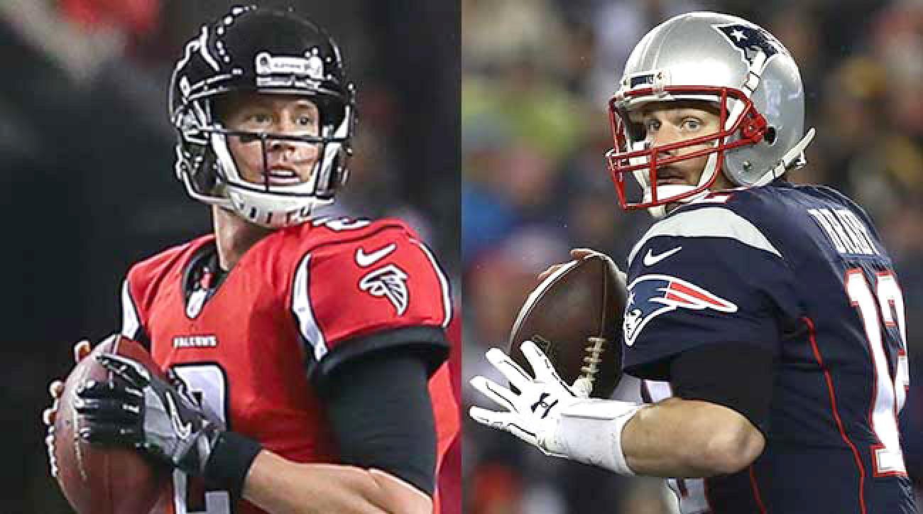 Matt Ryan and Tom Brady square off in Super Bowl 51.