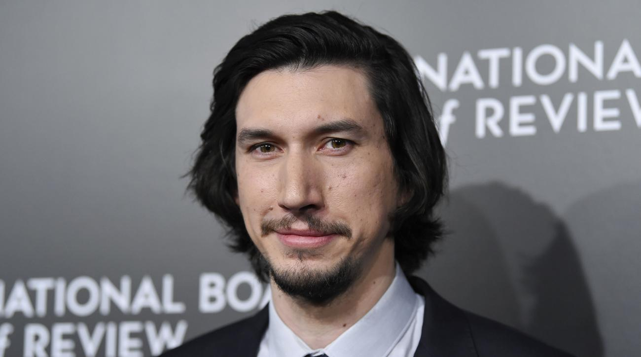 Adam Driver will star in Snickers' live Super Bowl commercial.