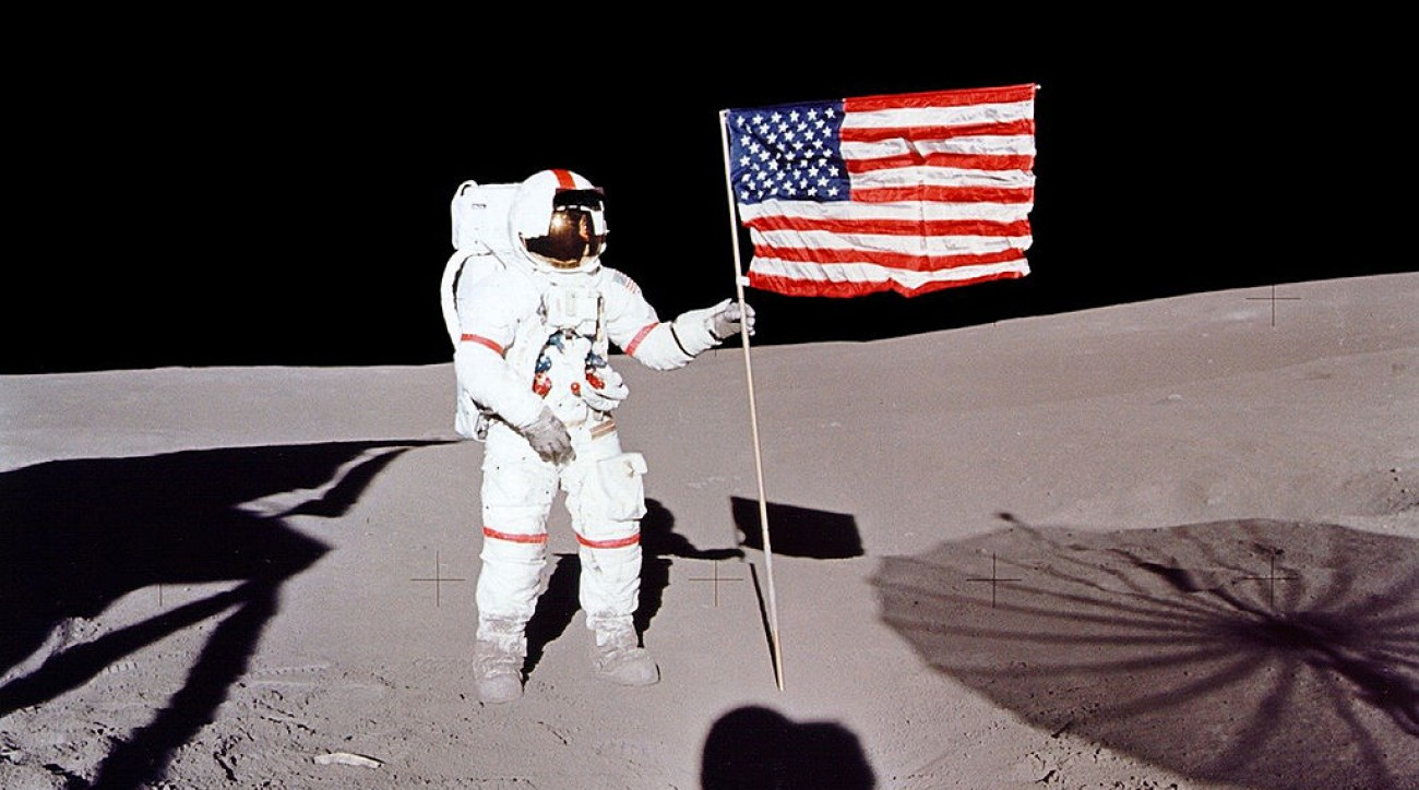 In February 1971, Alan Shepard became the first person to play golf in space.