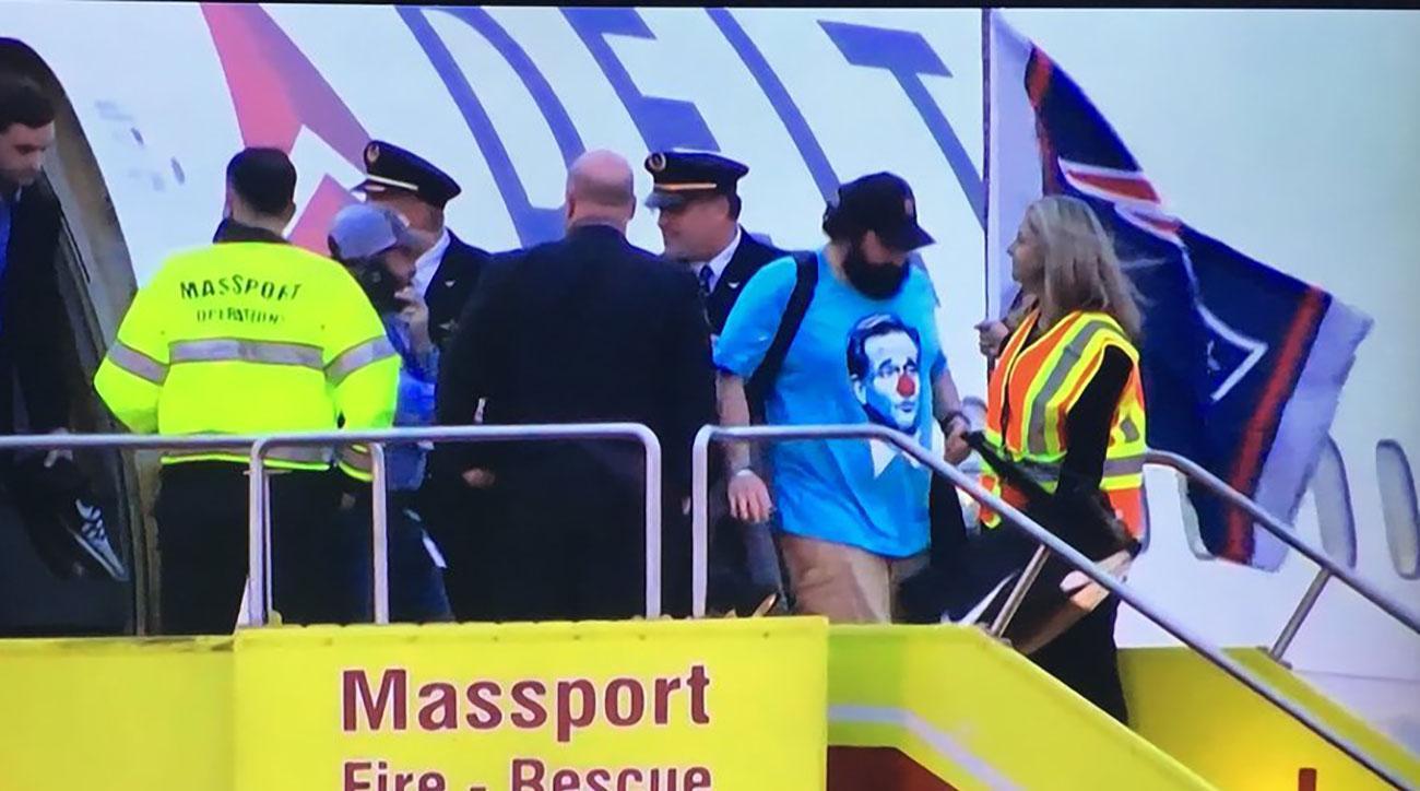 matt patricia roger goodell clown shirt
