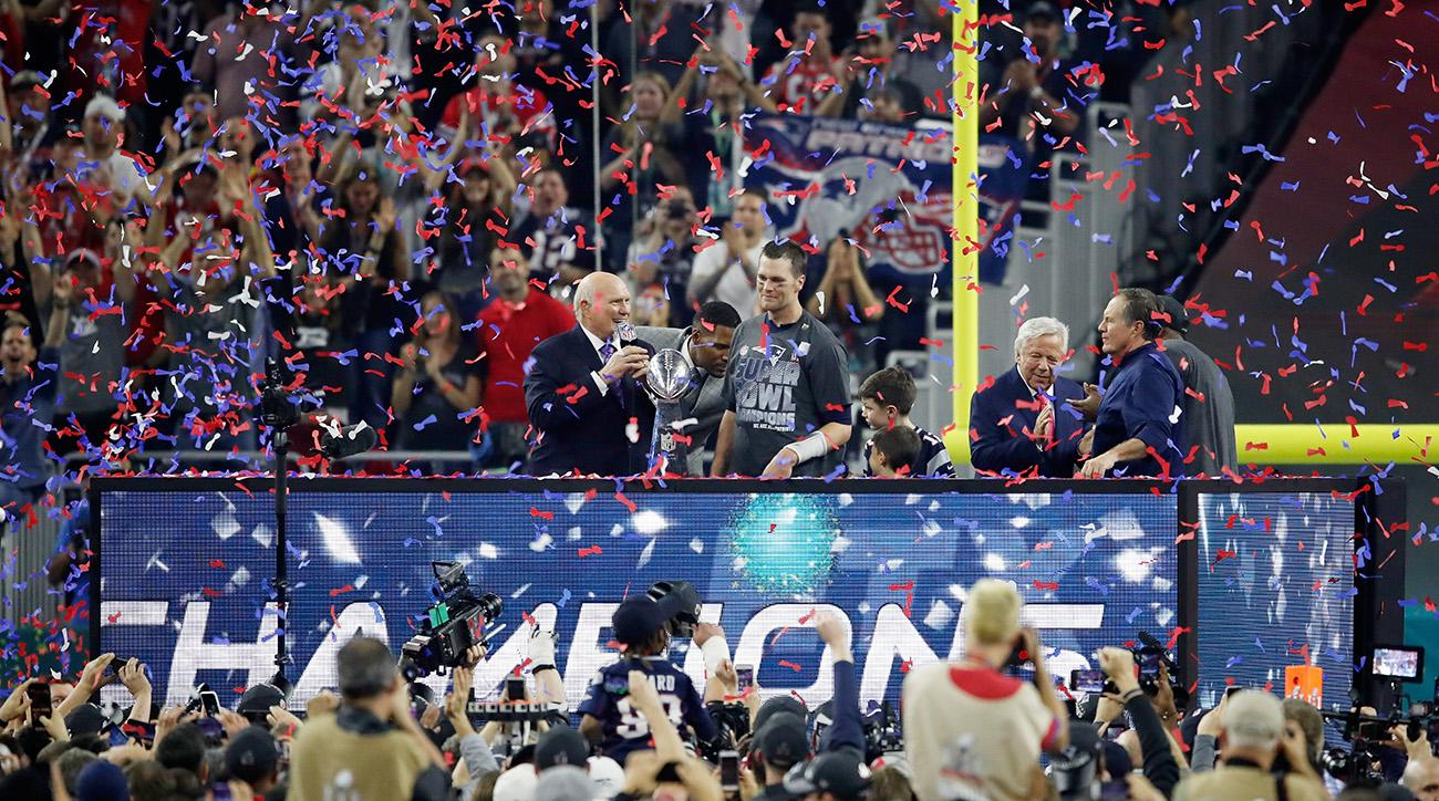 When is the New England Patriots parade?