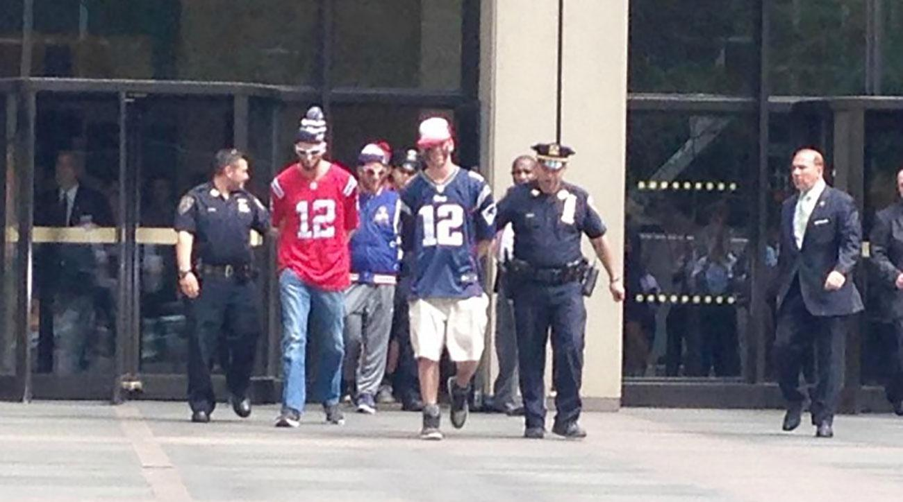 patriots fans arrested barstool sports