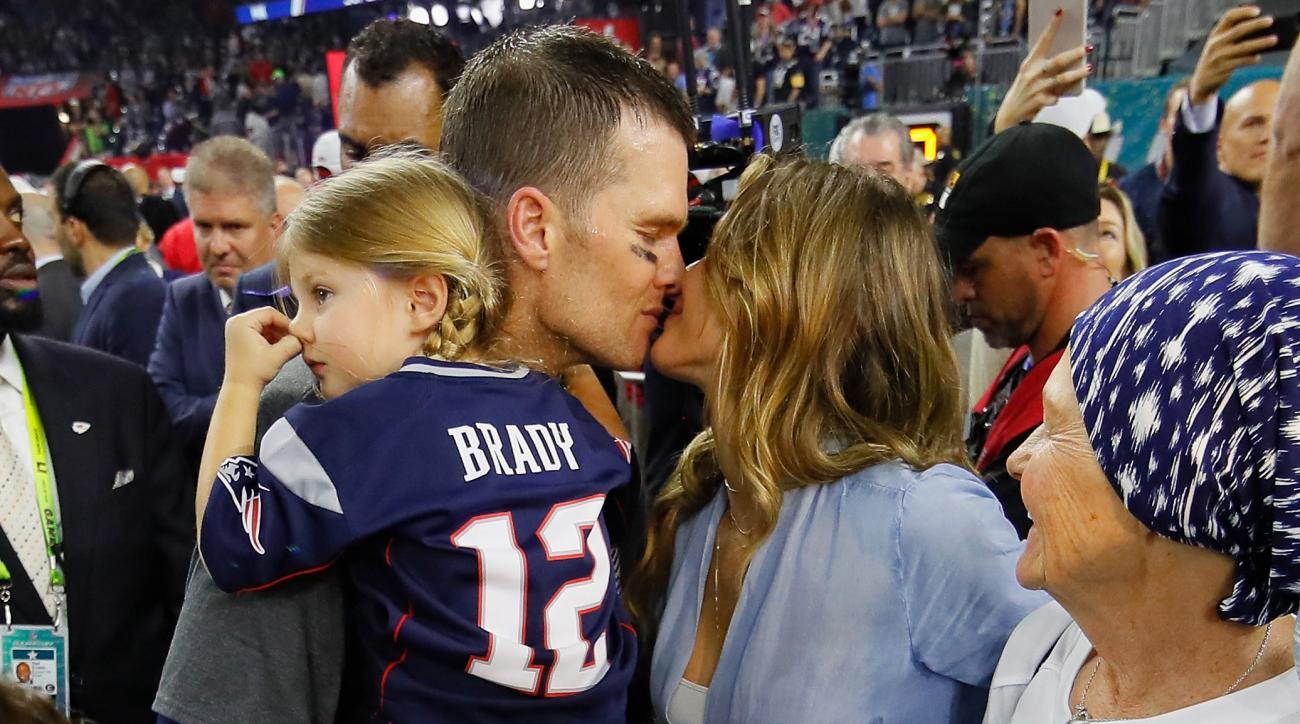 Tom Brady Super Bowl Instagram photos