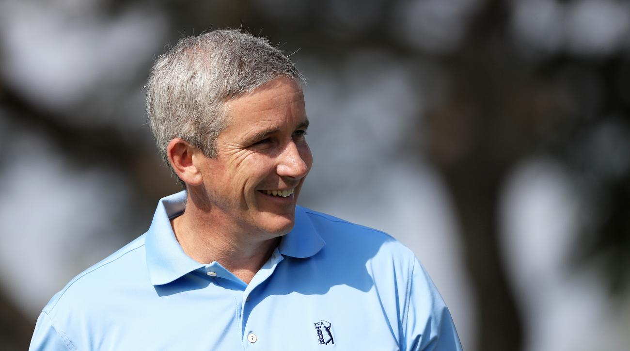 PGA Tour commissioner Jay Monahan succeeded Tim Finchem at the beginning of 2017.
