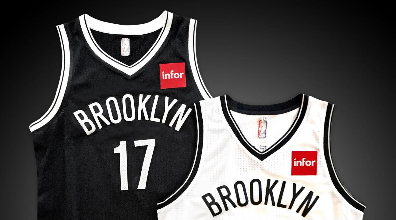 Nets jersey sponsor logo draws fan hate on Twitter