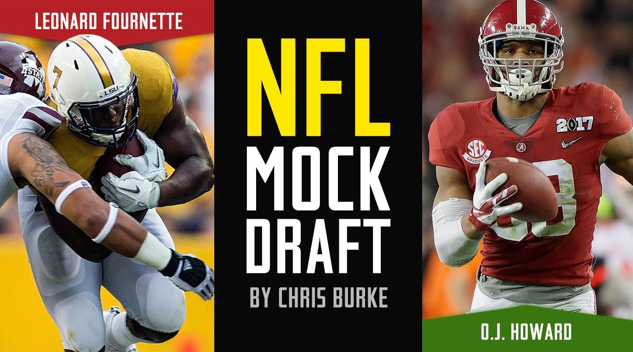 2017 NFL mock draft: Myles Garrett, Deshaun Watson, Jonathan Allen top first, second, third round picks