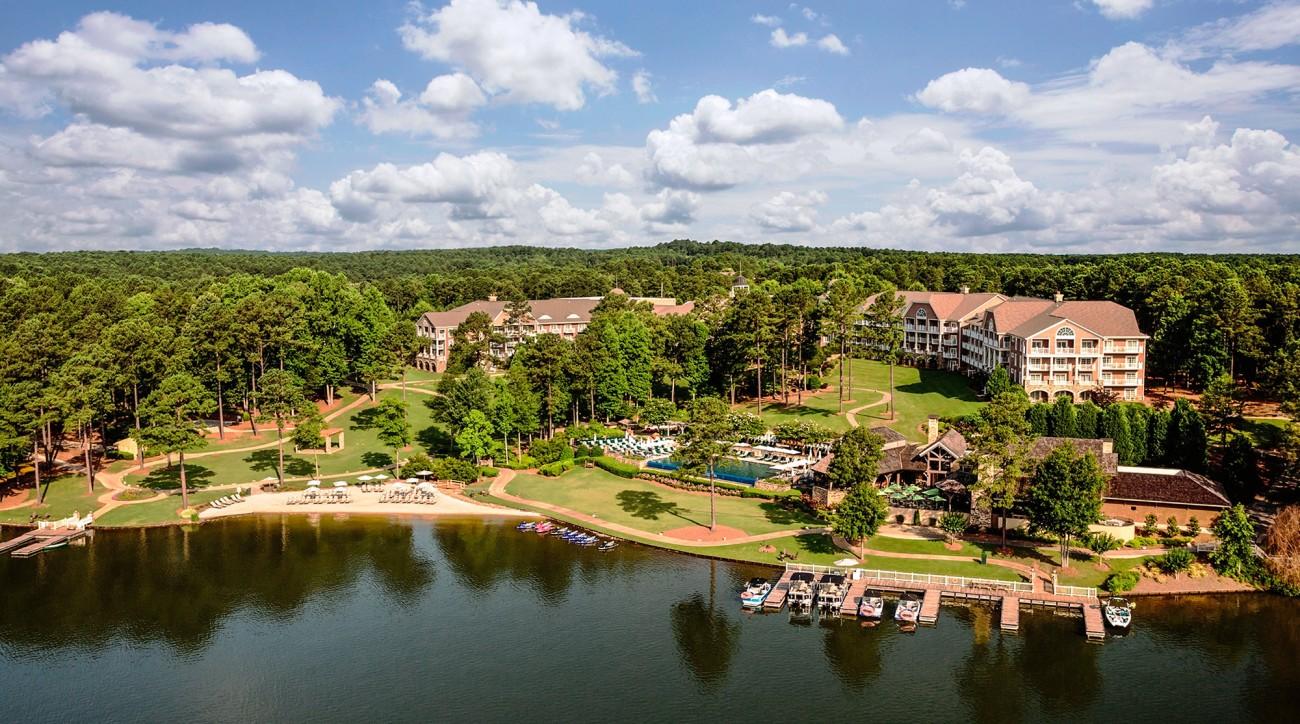 The sprawling Reynolds Lake Oconee is another gem in golf-rich Georgia.