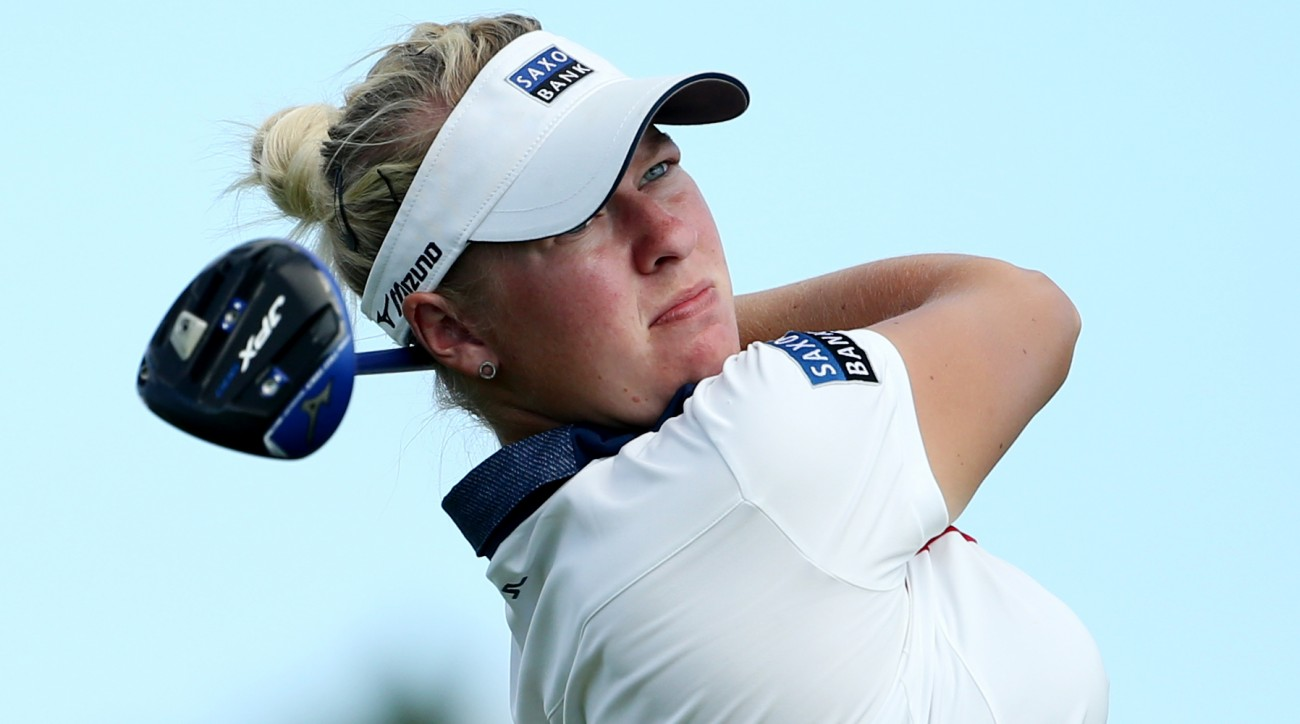 Nicole Broch Larsen was named the Ladies European Tour Player of the Year in 2015.