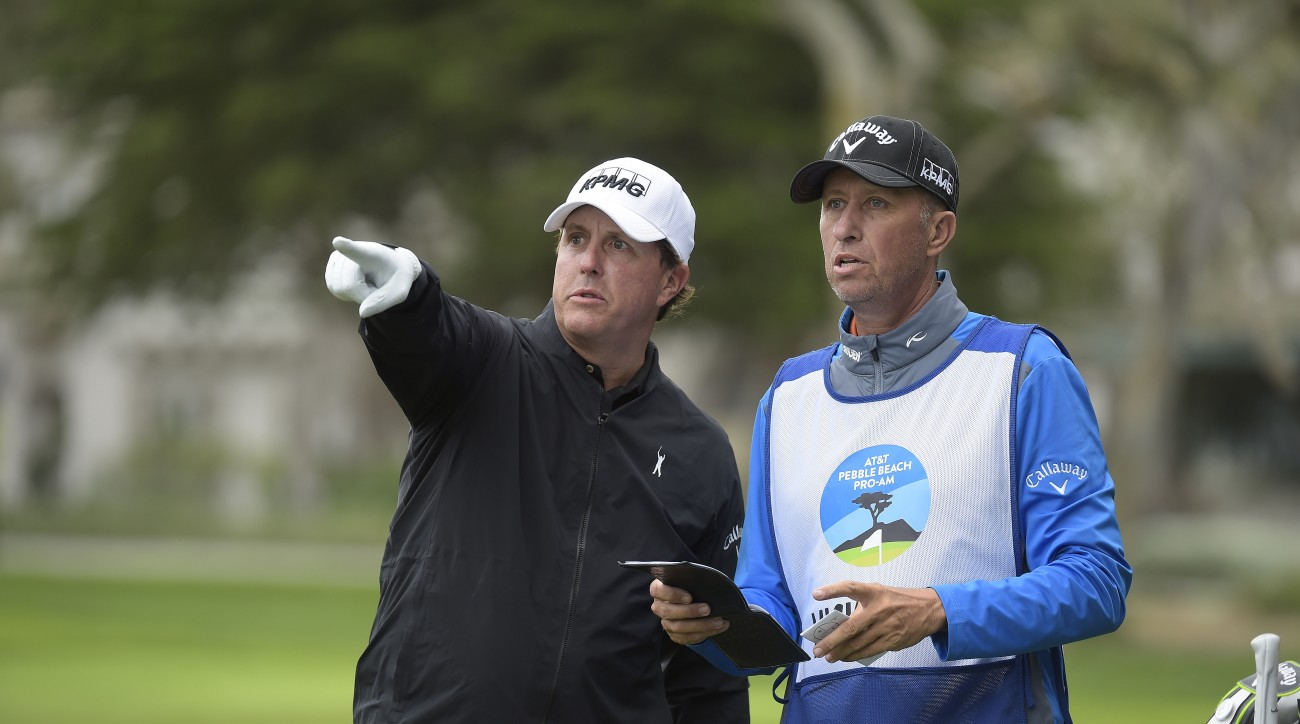 Phil Mickelson has won the AT&T Pebble Beach Pro-Am four times in his career.