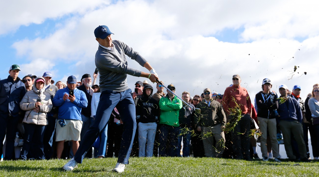 Jordan Spieth is looking for his first career win at the Pebble Beach Pro-Am.