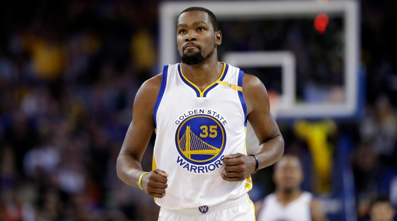 Kevin Durant oklahoma city thunder golden state warriors