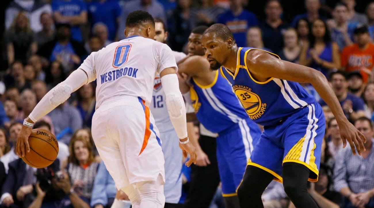 kevin durant russell westbrook video