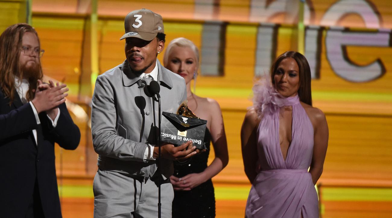 chance the rapper wins grammy