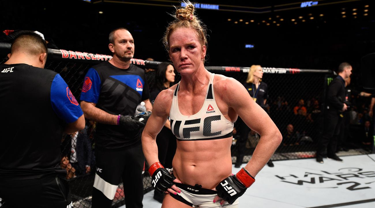 UFC 208: Holly Holm wants a re...