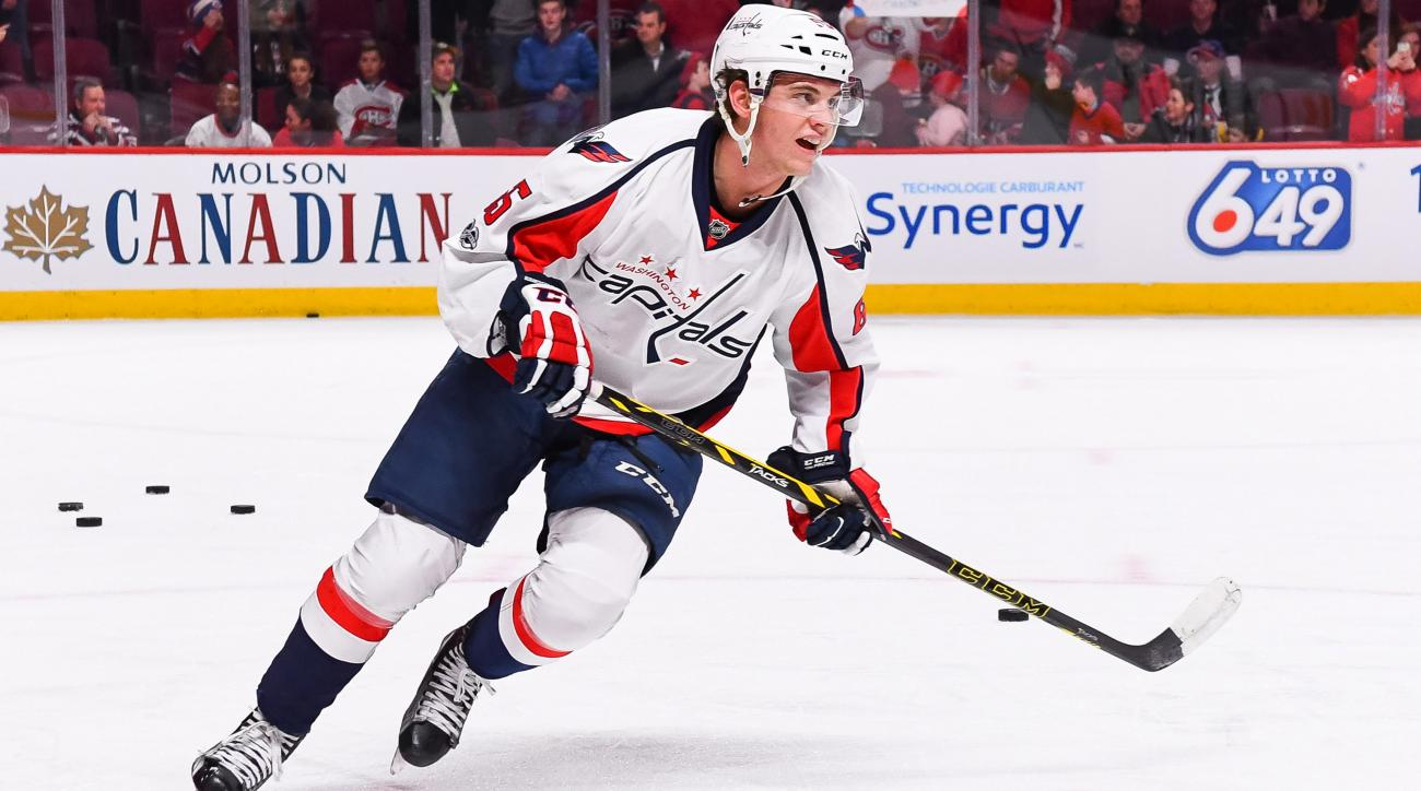 Andre Burakovsky got into a stranger's car thinking it was his Uber. He got a ride anyway.