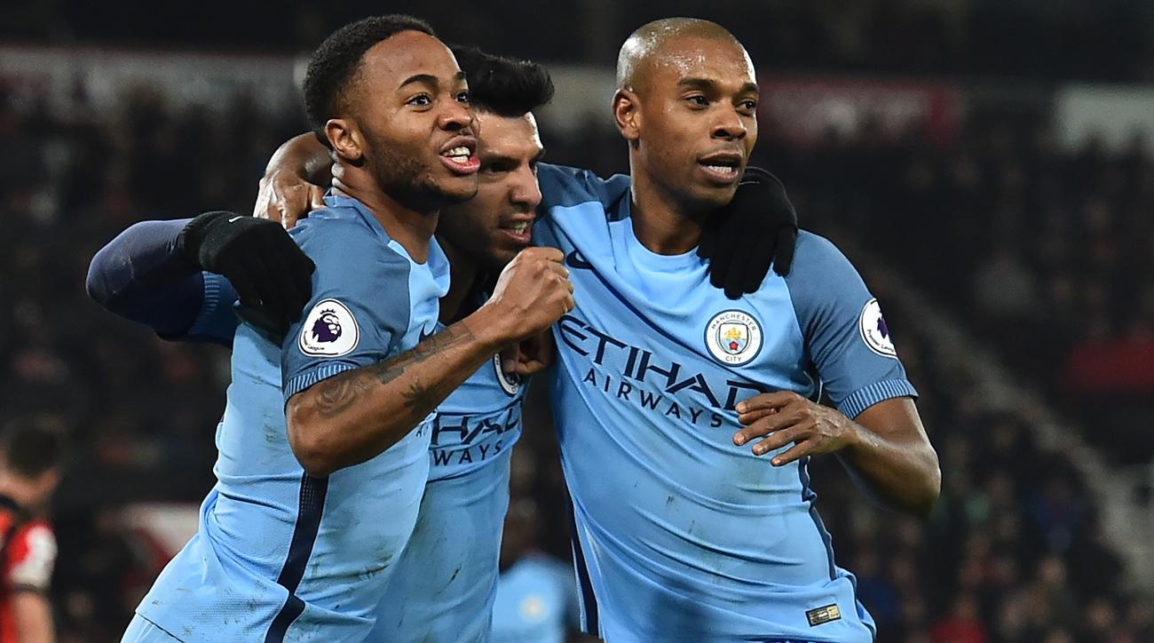 Manchester City beats Bournemouth in the Premier League