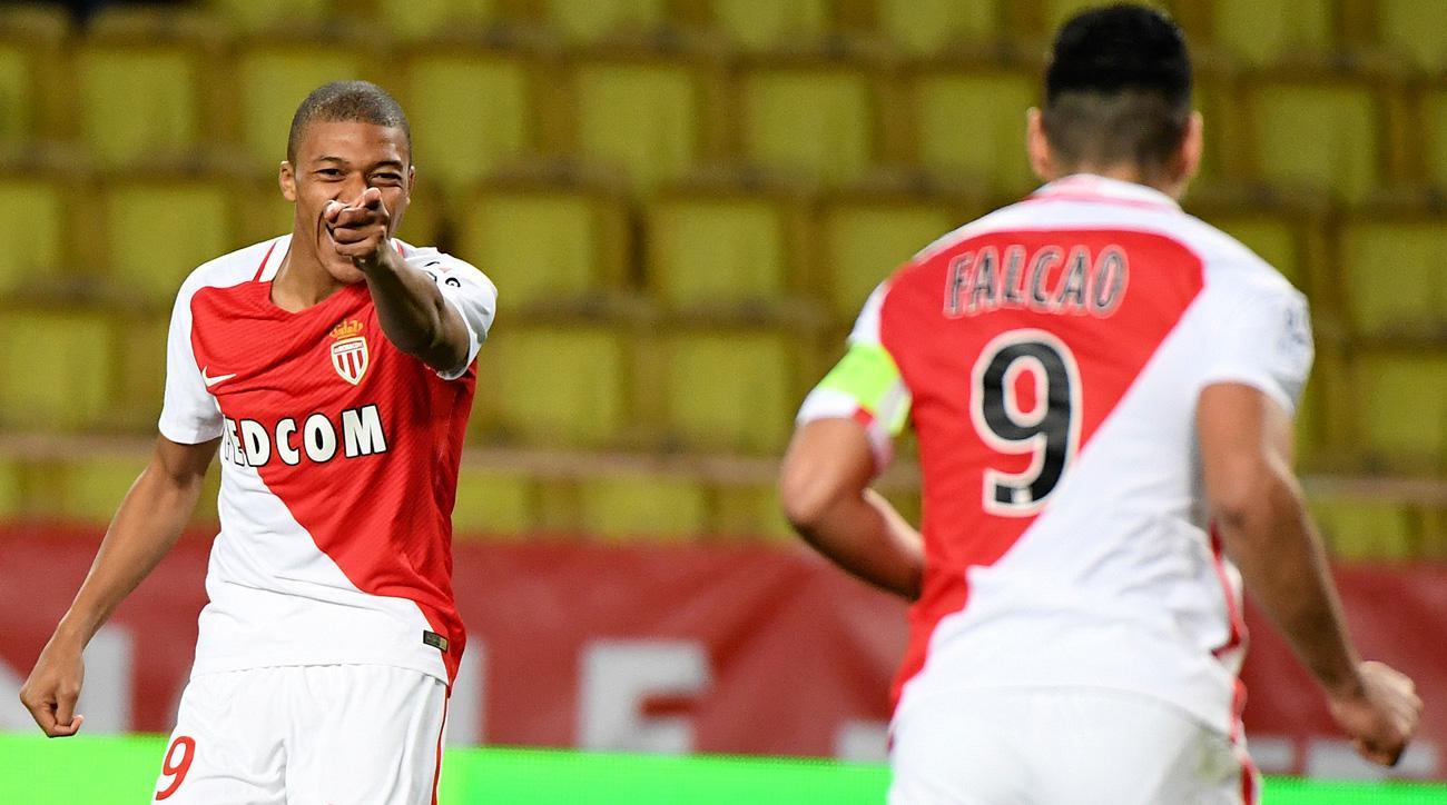 Kylian Mbappe is enjoying a breakout campaign for Monaco