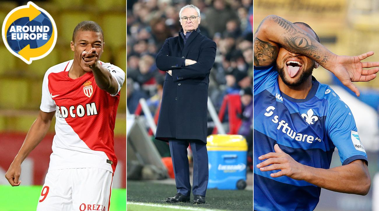 Kylian Mbappe, Claudio Ranieri and Terrence Boyd made headlines around Europe over the weekend