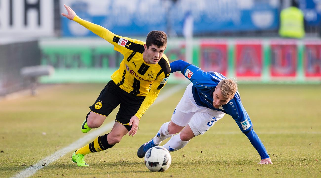Christian Pulisic continues to be a regular at Borussia Dortmund