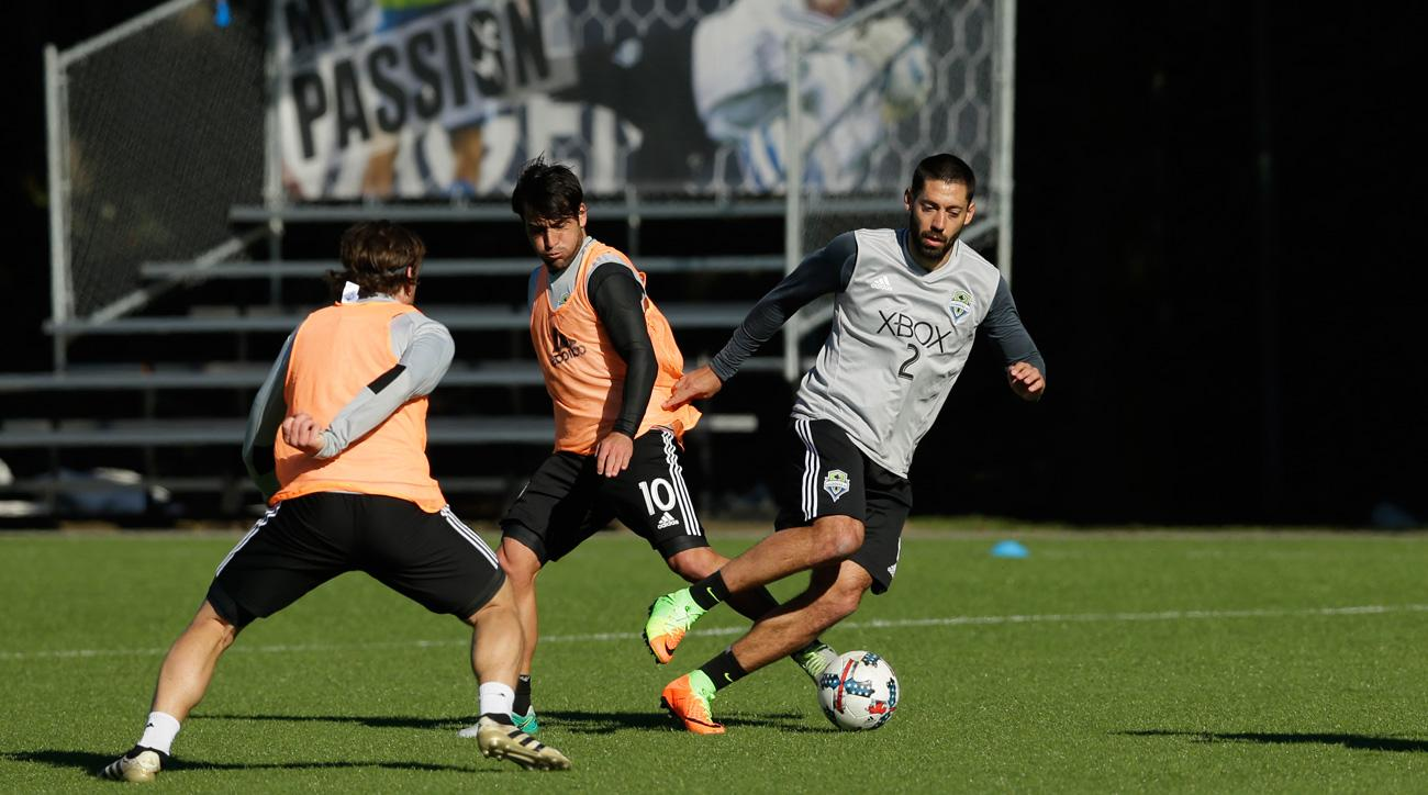 Clint Dempsey has returned to training with the Seattle Sounders