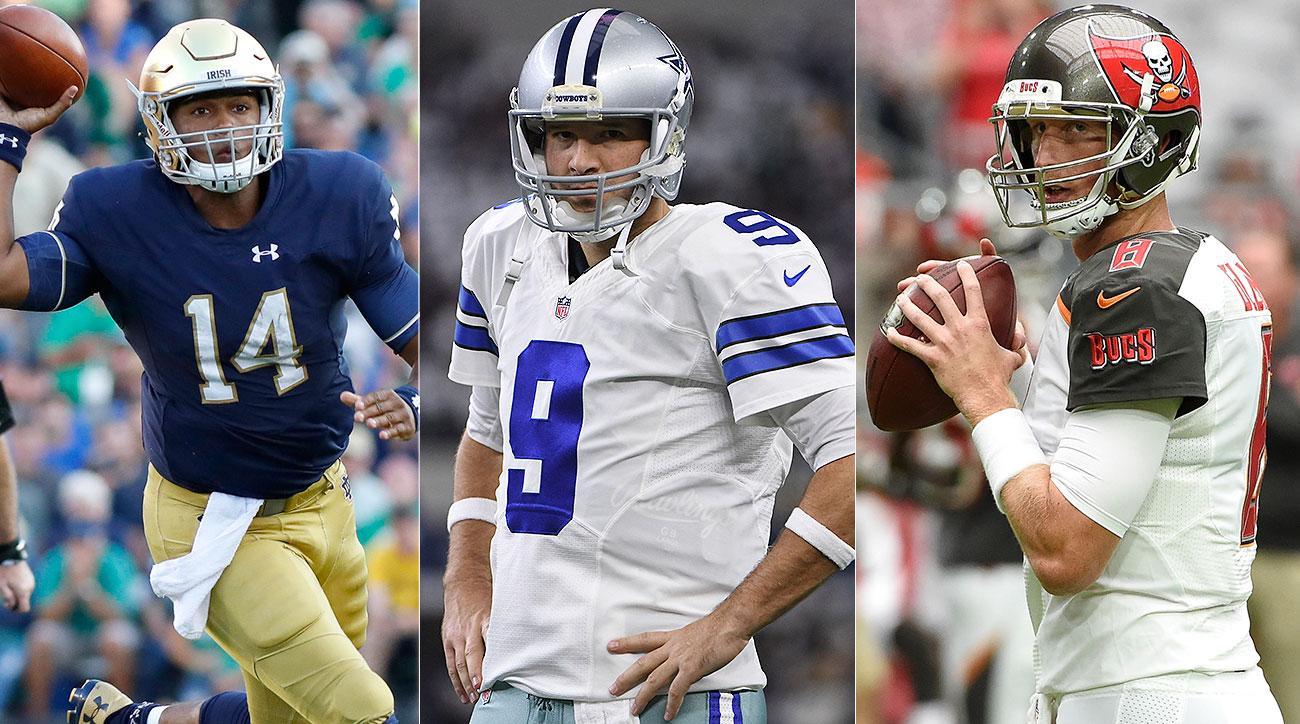 2017 NFL draft, free agency quarterback rankings: Tony Romo, Deshaun Watson, Colin Kaepernick