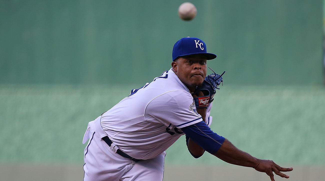 Edinson Volquez, Kansas City Royals