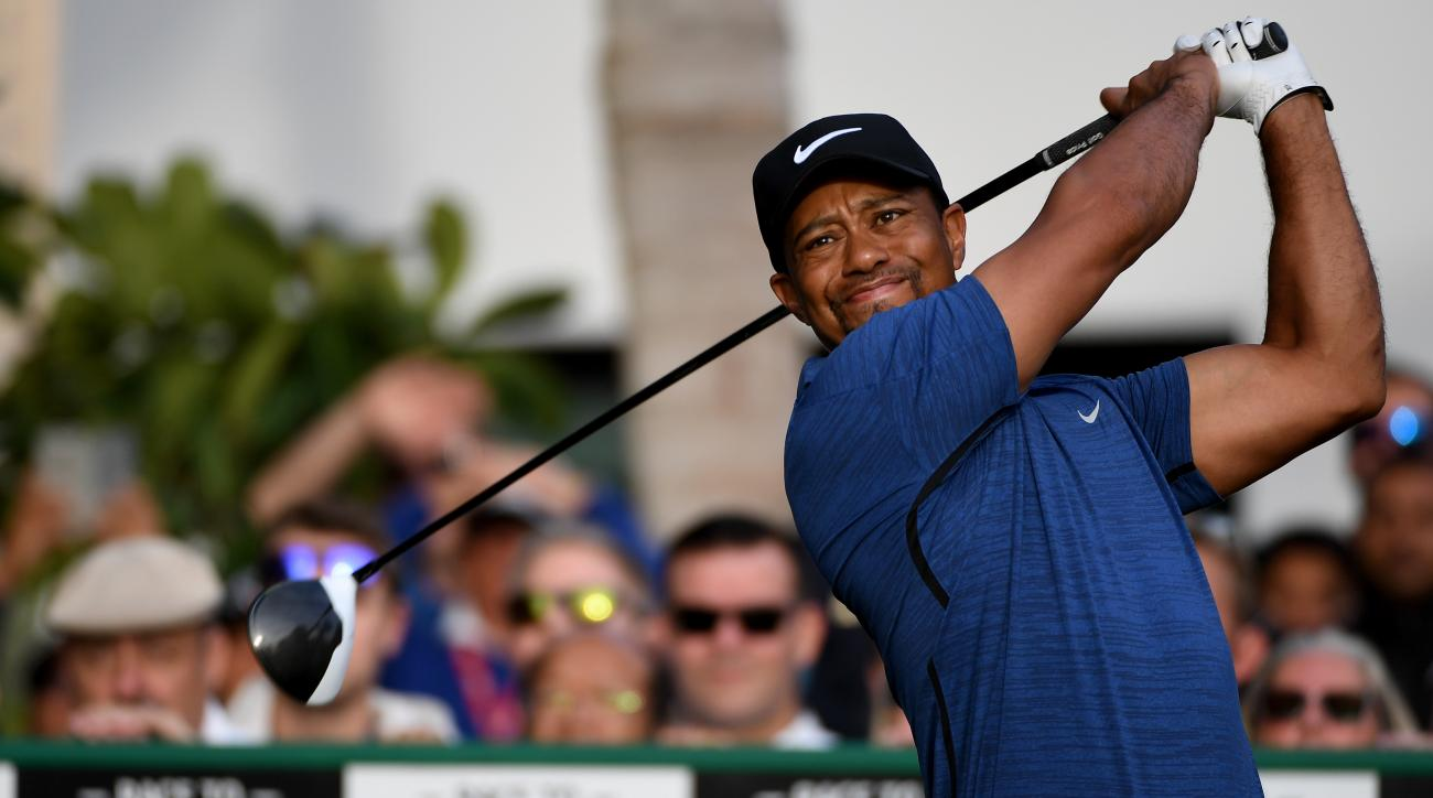 Tiger Woods announced on Tuesday that he will not be holding his Wednesday press conference due to his back injury.