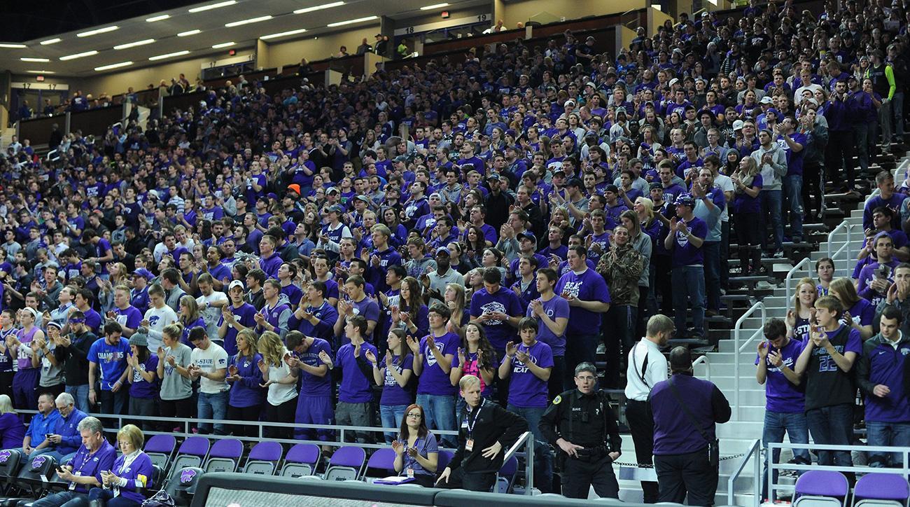 Kansas State fans