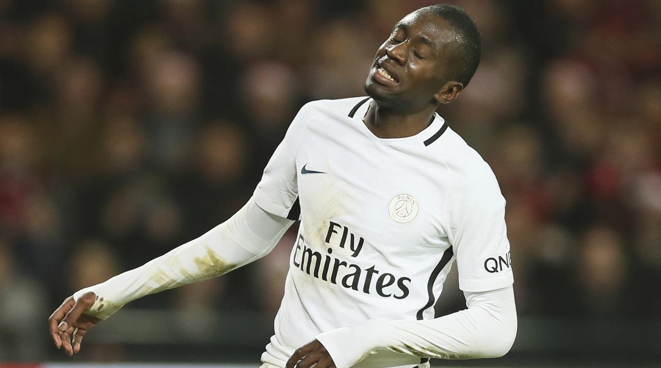 "Blaise Matuidi googled ""Matuidi wife"" to find a picture for Valentine's Day"