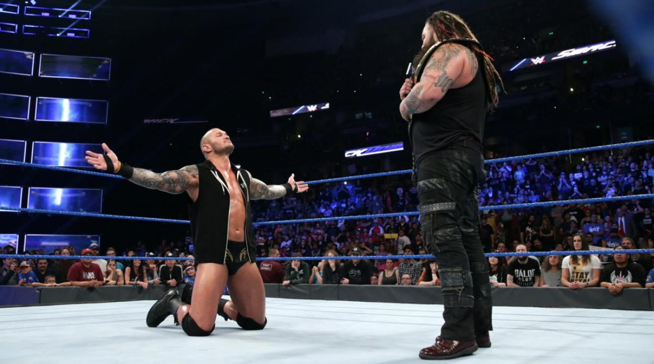 Randy Orton-Bray Wyatt Wrestlemania main event off
