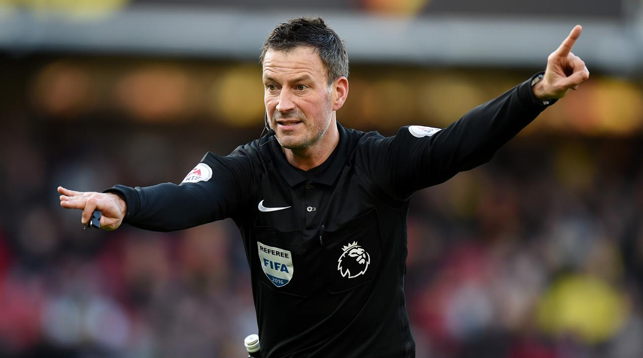 Referee Mark Clattenburg is leaving the Premier League for Saudi Arabia