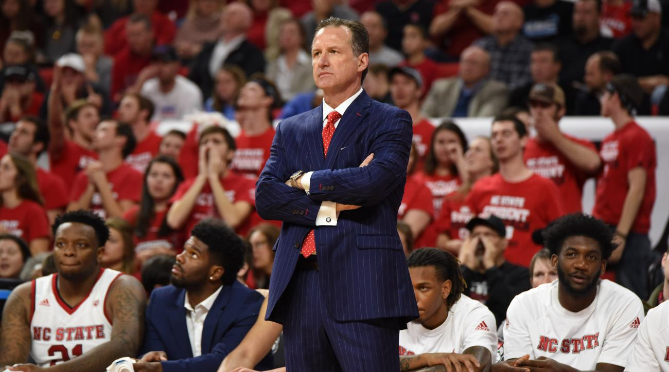 NC State has fired head coach Mark Gottfried, but he will continue to coach for the rest of the season.