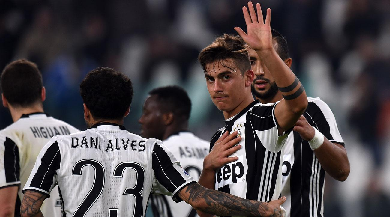 Juventus routs Palermo in Serie A
